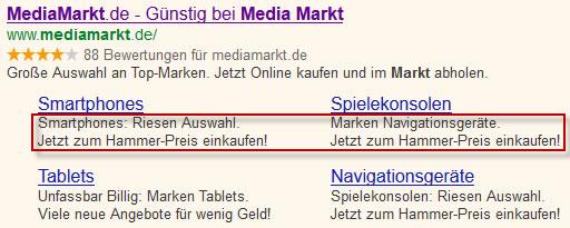 sitelinks-media-markt