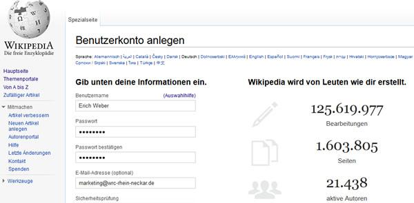 wikipedia-benutzerkonto