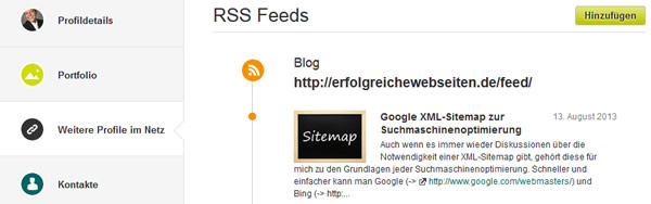 xing-rss-feed-anzeige