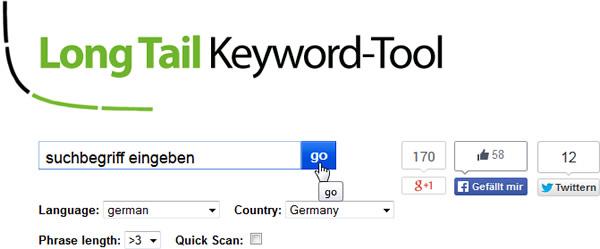 Longtail Keyword-Tool
