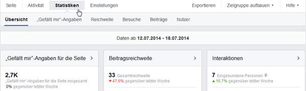 facebook-statistiken