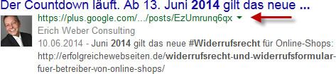 google-suchergebnis-aus-google+