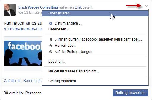 facebook-beitrag-oben-fixieren